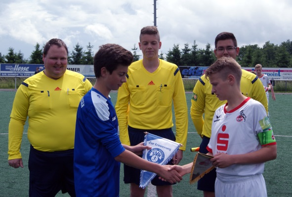 JSG RHID-F vs. 1.FC Köln U14 mit SR Kaufmann