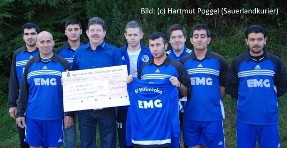 SVH DFB-Stiftung 500 € Check